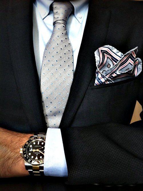 Dicas para aprender a combinar o fato, a gravata e a camisa