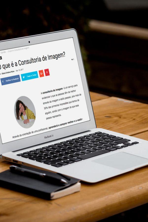 Artigo Jornal Verdadeiro Olhar – O que é a Consultoria de Imagem?